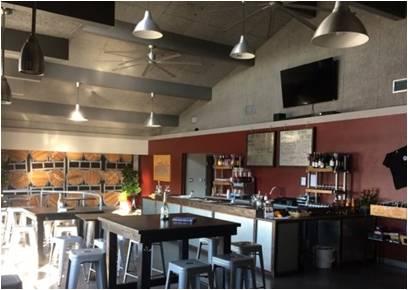 Tasting Room, La Mesa Wine Works