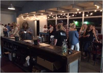 La Mesa Wine Works, view of Tasting Room